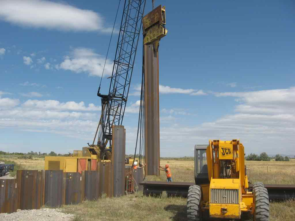 cannonbuilders » Pile Driving and Shoring