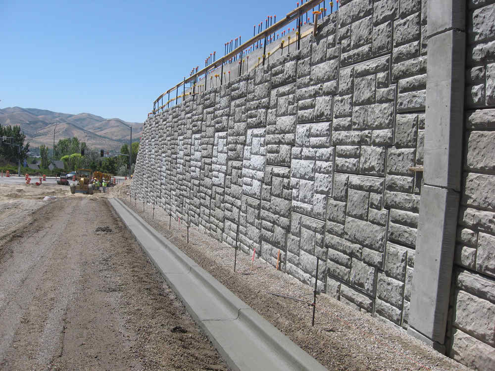 Stabilized Earth Retaining Road : Cannonbuilders retaining walls